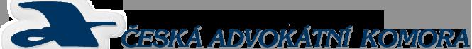 Logo: Česká advokátní komora